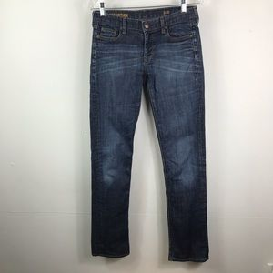 J. Crew matchstick skinny jeans size 28R